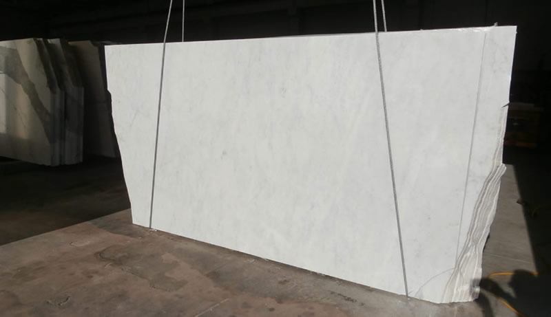 Eurostyle Stone Imported Bianco Carrara Marble For Custom Kitchen